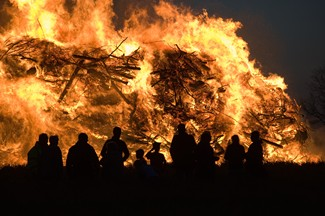 Texas A&M Bonfire
