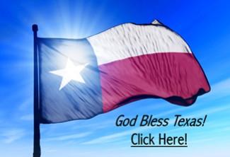 Texas Flag - God Bless Texas