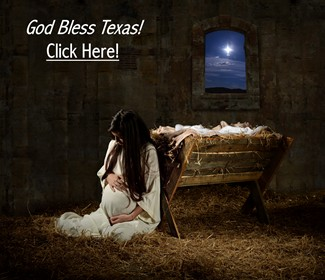 Virgin Mary - God Bless Texas