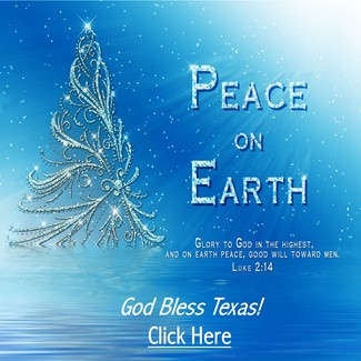 Peace on Earth - God Bless Texas