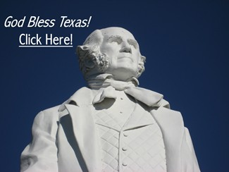 Sam Houston - God Bless Texas