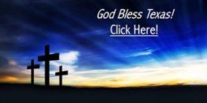 Christian Crosses - God Bless Texas