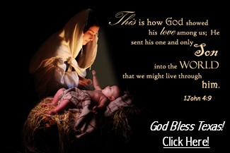 Baby Jesus - God Bless Texas