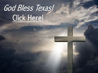 Cross - God Bless Texas