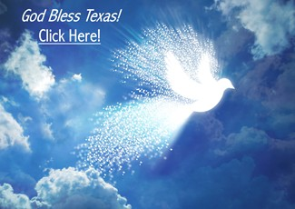 Peace Dove - God Bless Texas