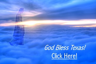 Jesus Christ - God Bless Texas