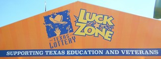 Texas Lotto Luck Zone Tent