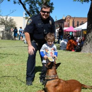Gainesvill Texas Police Officer Justin Patterson