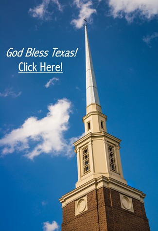 Church God Bless Texas